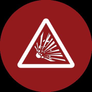 Dust Hazard Analysis Icon